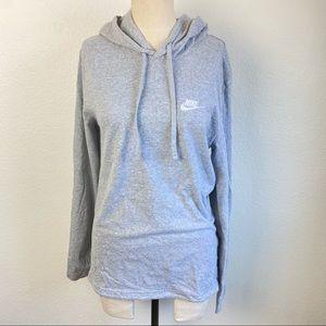 Nike Gray Sweatshirt Pullover Hoodie